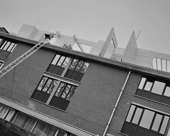 Voorbeeldappartement, Kantoor AID – Gent