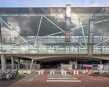 St Pietersstation Gent – Arch Jaques Voncke